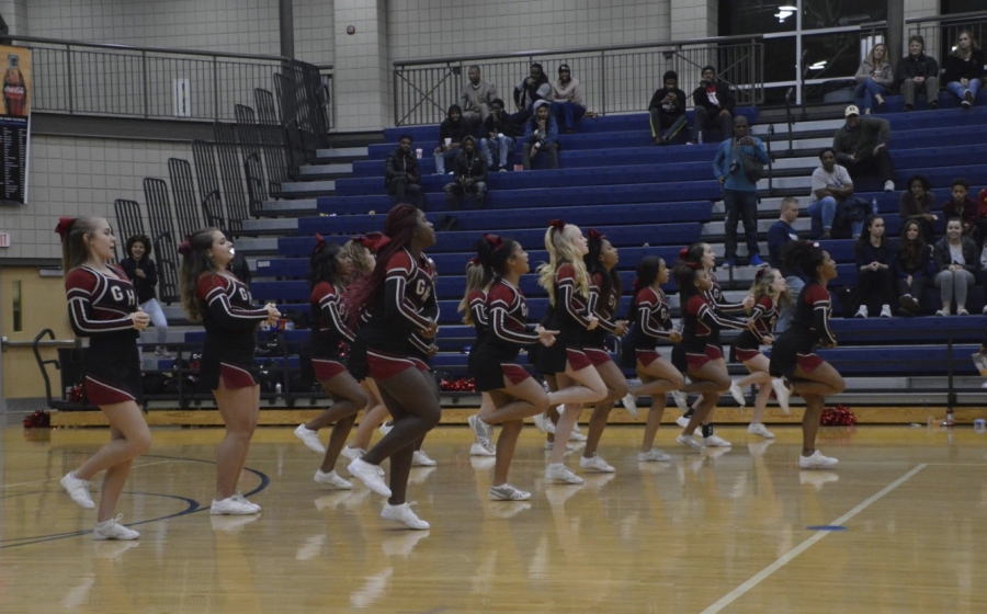 """Grady Cheerleading team was suspended by Principal Dr. Betsy Bockman after reports of """"serious situations of behavior."""""""