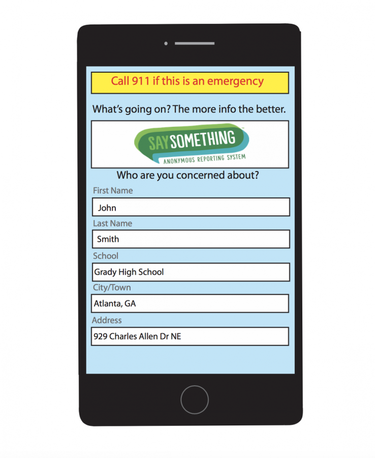 MAKING CHANGE: Students can log onto the See Something app to report an incident or a fellow classmate and receive immediate help.