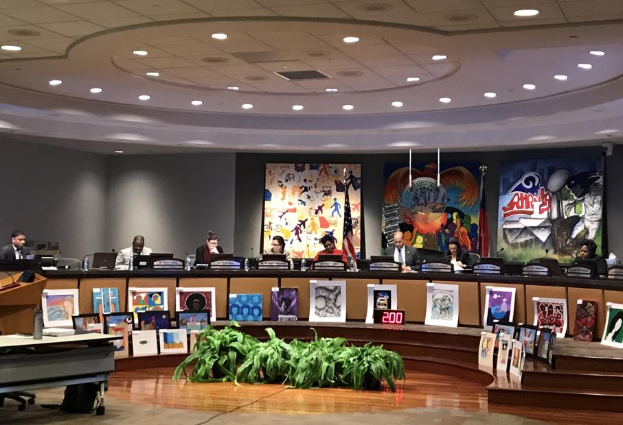 The school board voted 5-3 on Mar. 4, giving partial approval of its