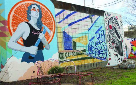 Cabbagetown murals brighten community