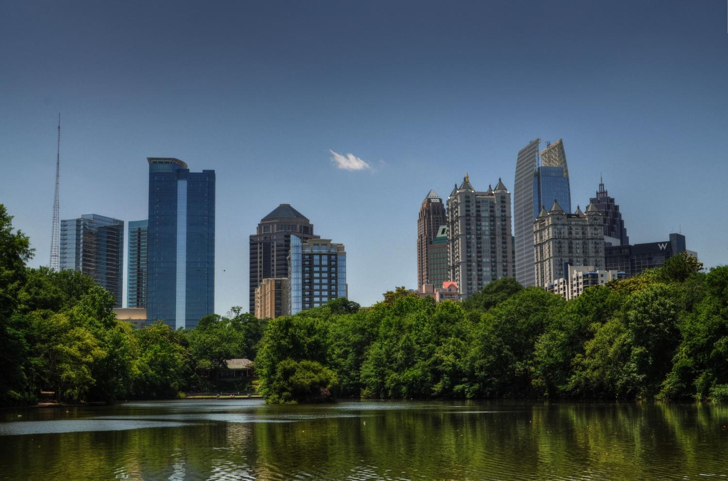 Three male students allegedly sexually assaulted a 14-year-old  female in Piedmont Park May 8.
