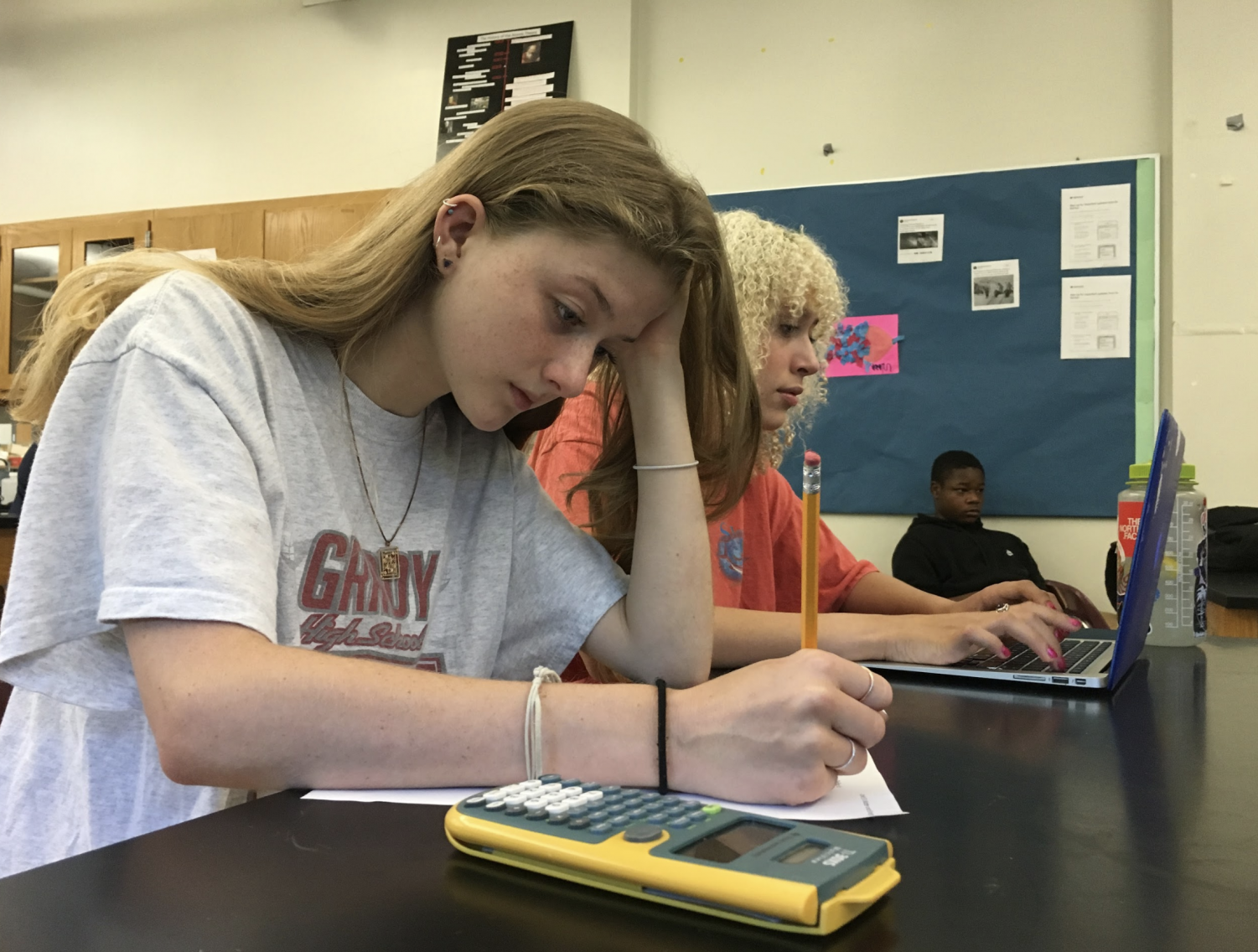 Because she has ADD, sophomore Carson Gray sometimes has trouble focusing during school. Her 504 plan is getting approved for the next school year.
