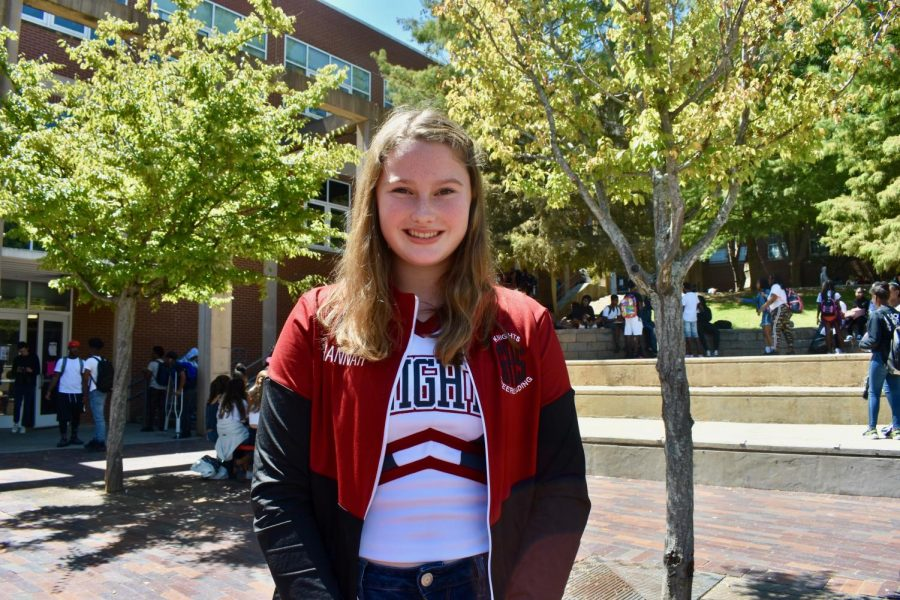 Hannah Doherty, sophomore
