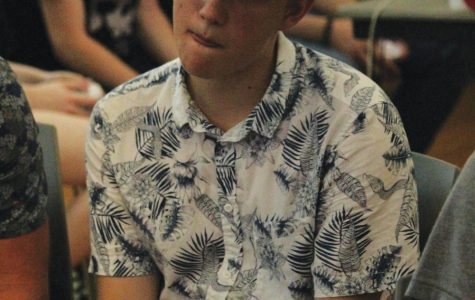 Junior Jake Willoughby focuses his attention at playing in a NCKR1 tournament.