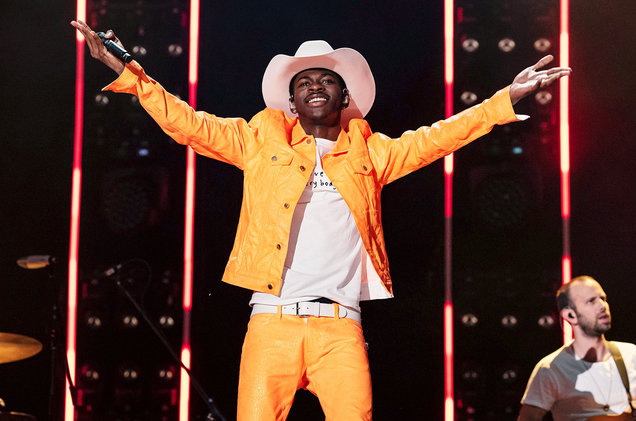 Lil Nas X performs during Day 3 of the 2019 CMA Music Festival on June 8 in Nashville, Tennessee.