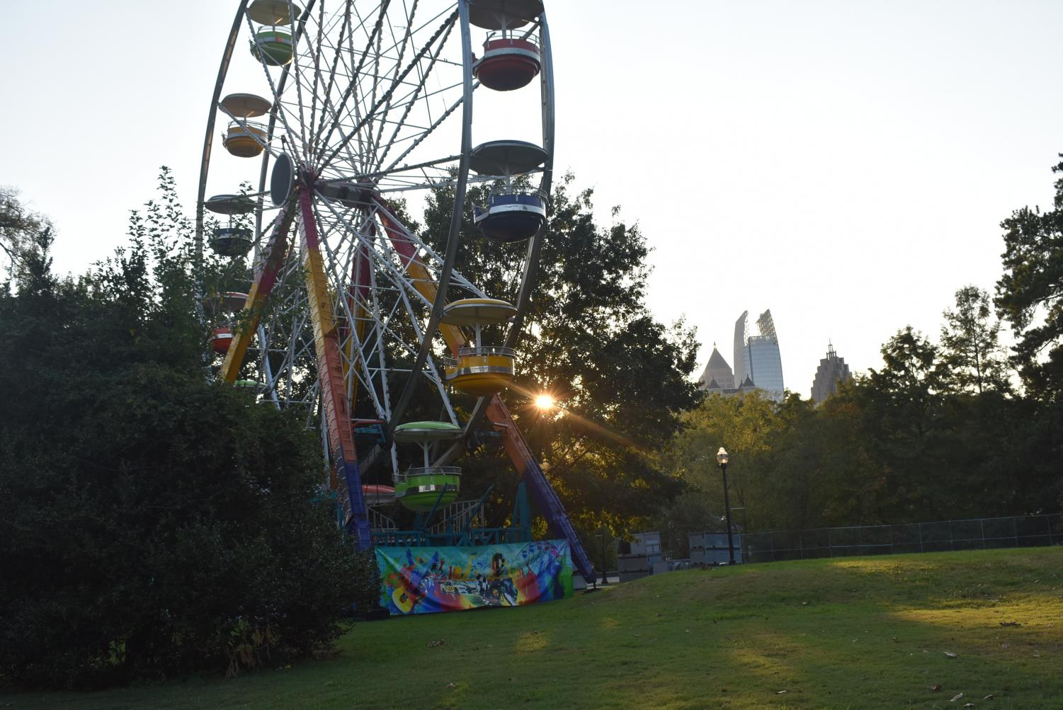 Pictured+is+the+Music+Midtown+carousel%2C+which+will+soon+be+surrounded+by+many+tents+for+vendors.