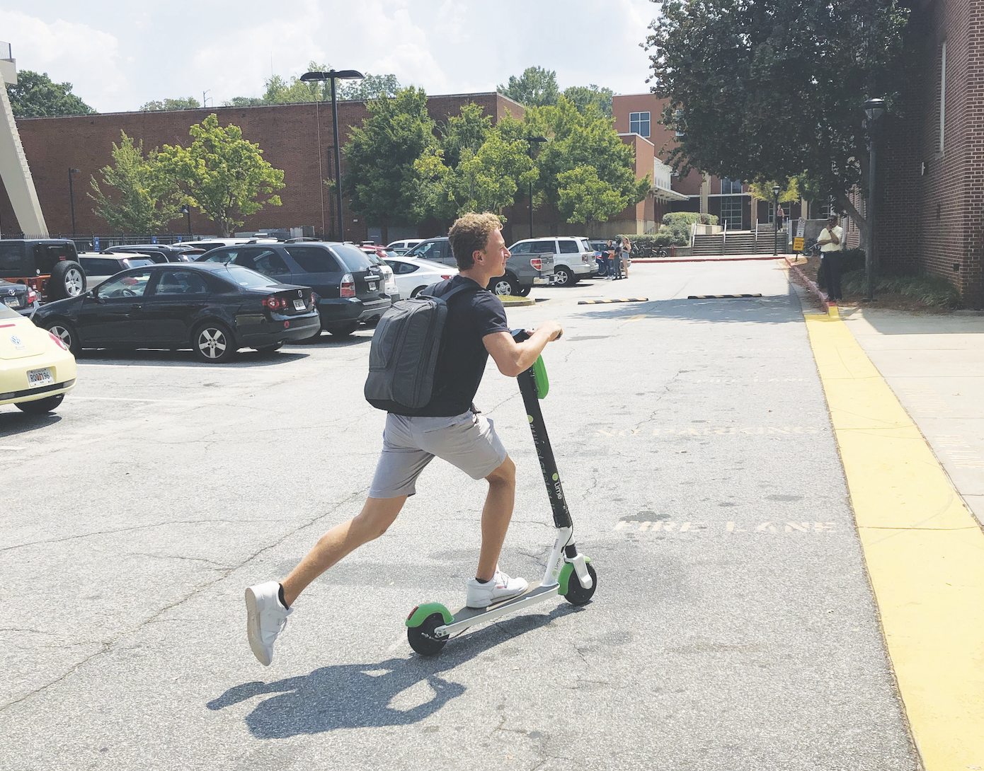 Rise of scooters