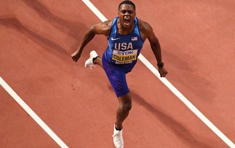 Christian Coleman, son of APS media relations manager, wins IAAF World Championships