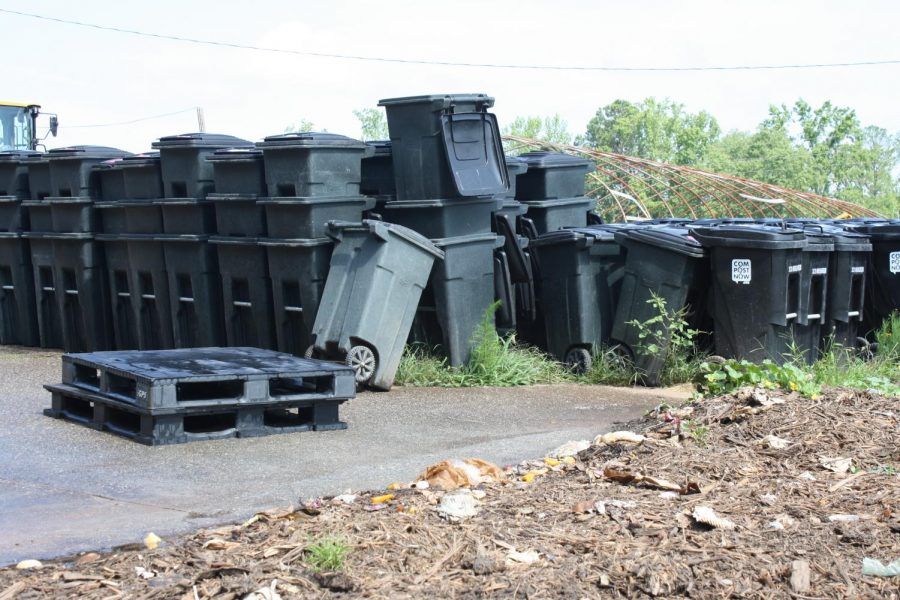 Private company CompostNow provides a weekly composting pickup service in which Atlanta customers place compost outside their houses to be taken to the CompostNow Facility.