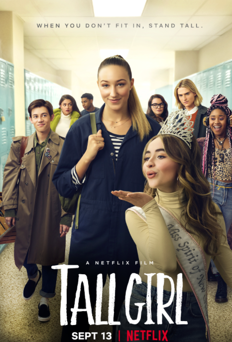 Tall Girl focuses on the tallest girl in her high school and how she gains the confidence to be proud of her height.