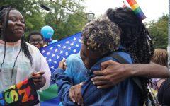 Gay-Straight Alliance marches in Atlanta Pride Parade