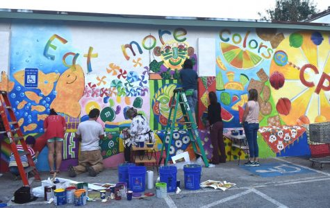Mural brings schools and community together