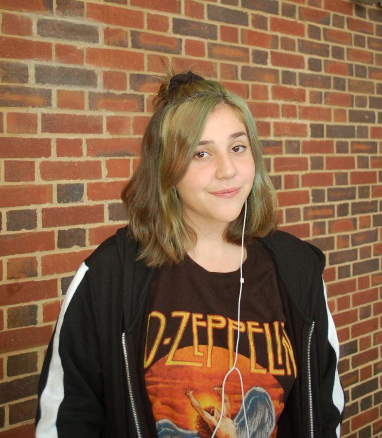 Malori Switzer, sophomore