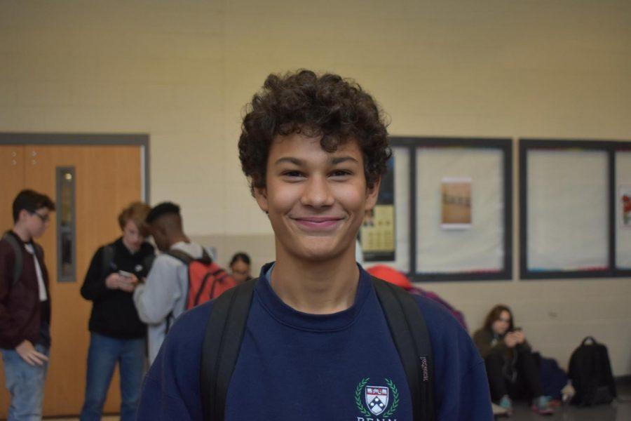 Teddy Suazo, sophomore