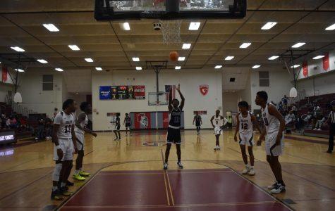 Varsity Boys Basketball take on KIPP