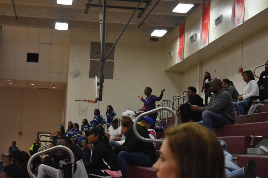 After, #40, Immanuel Bolden received a technical foul, a KIPP parent stood up in outrage.