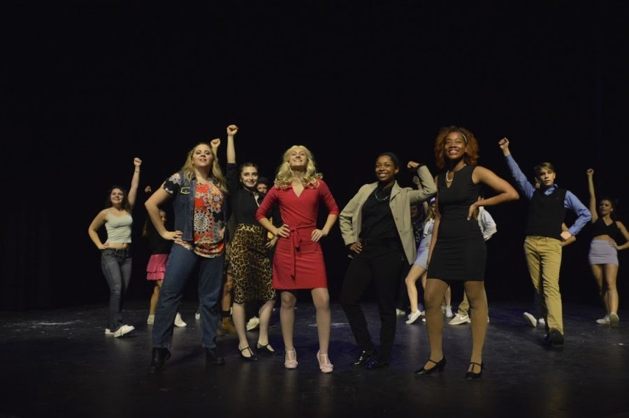 Legally Blonde showcased many strong female leads including junior Isabel Pruitt who played Elle Woods.