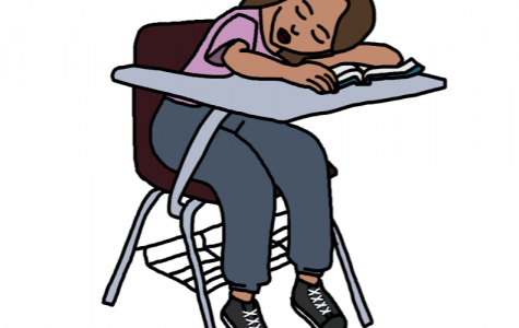 Many Grady students struggle to stay awake and attentive during class.