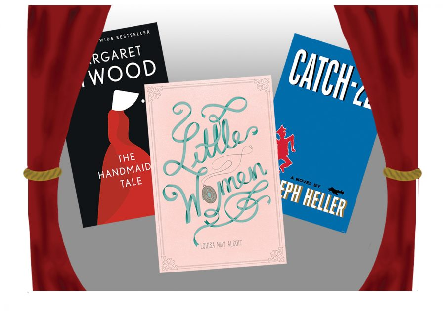 Classic novels such as The Handmaids' Tale, Little Women, and Catch-22 have received television or movie adaptations.