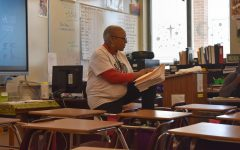 Ms. Blair instructs her 3B class as they attentively listen and do their classwork.