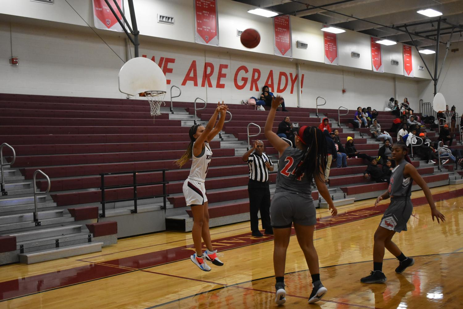 """Grady should unite all sports teams under the sole mascot, the Knights, and eliminate """"Lady"""" from team titles."""