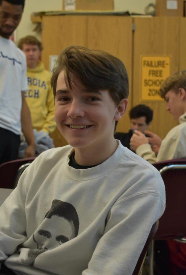 Lawson Crutcher, sophomore