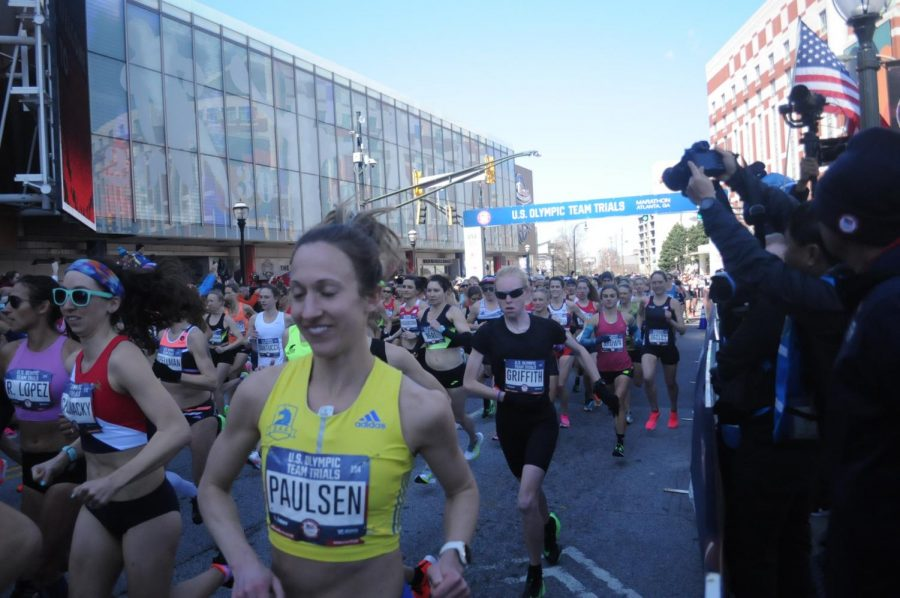 Alumna Griffith finishes top 100 at U.S. Olympic Team Trials – Marathon