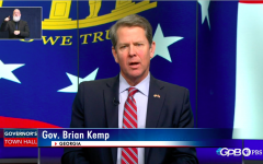 Gov. Brian Kemp addressed the state's response to the COVID-19 outbreak Thursday night in a live public broadcast.
