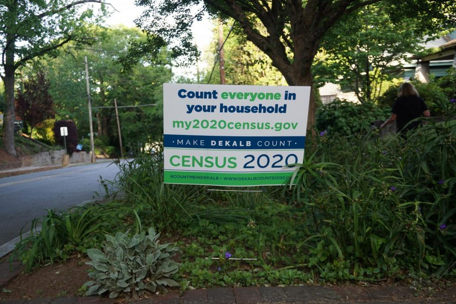Yard+signs+encouraging+people+to+fill+out+the+2020+Census+have+popped+up+in+the+midst+of+the+COVID-19+pandemic.+