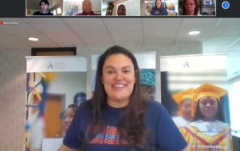 Atlanta Public Schools Superintendent Dr. Meria Carstarphen speaks at a virtual media roundtable about the impact COVId-19 has had the 2019-2020 school year.