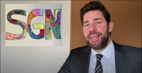 John Krasinski in the first episode of Some Good News.