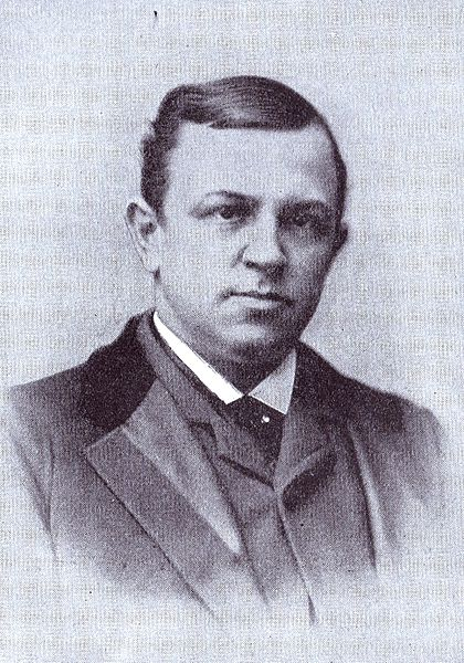 A late nineteenth-century portrait shows Henry W. Grady, the orator whose efforts to create a