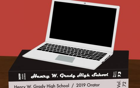 The Orator staff meets in daily Zoom video calls in order to keep up with planning and creating content for the yearbook.