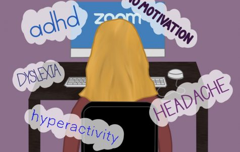 Students with learning disabilities have to combat many mental challenges with virtual learning.
