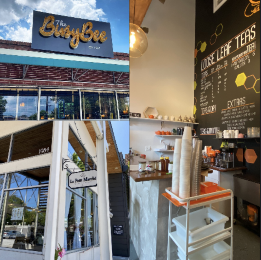 Just Add Honey Tea Shop, Busy Bee Cafe, and Le Petite Marche have all had to adjust to the economic impacts of COVID-19.