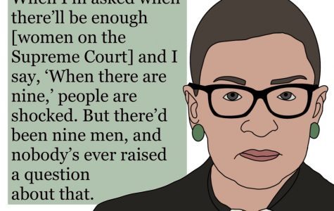 Justice Ginsburg had many famous quotes, this is one of them.
