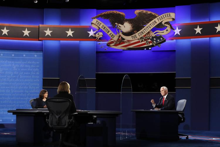 Incumbent Vice President Mike Pence and Senator Kamala Harris, Democratic vice presidential nominee, present their ticket's policies on a number of important issues at the vice presidential debate on Oct. 7.