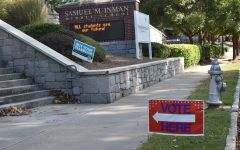 While Morningside Elementary School's temporary campus has seen less voter turnout than expected, voters remain excited to vote.