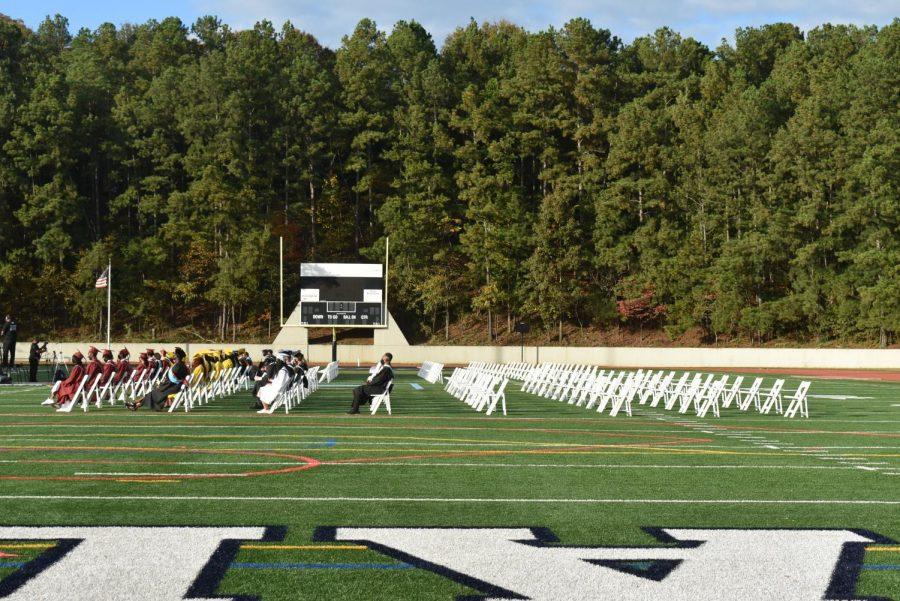 Fifty graduates from Grady, Maynard Jackson, Mays and North Atlanta High School attended the ceremony.