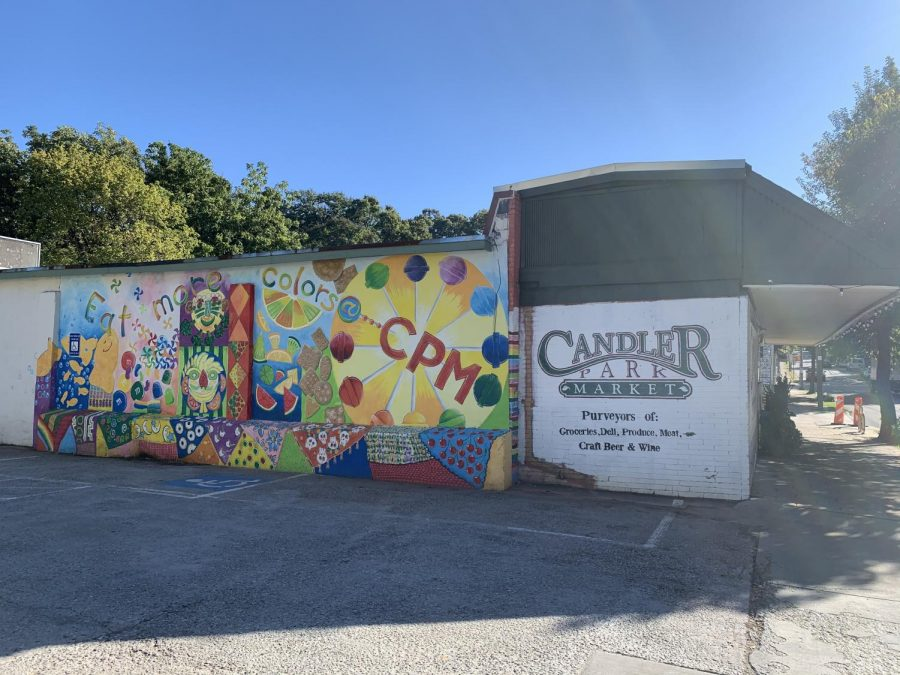 This+mural+was+painted+by+anyone+in+the+neighborhood+who+wanted+to+volunteer.+This+activity+helped+bring+the+community+together+to+paint+Candler+Park+Market.