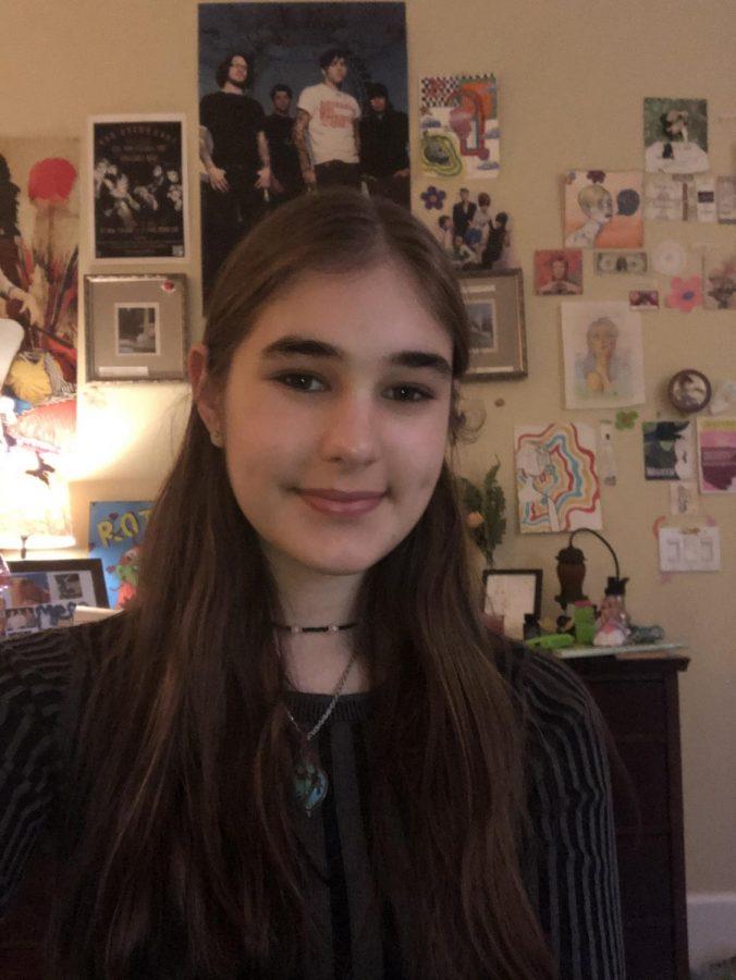Claire Weinstein, sophomore