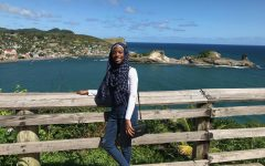 Senior Inaya Abdul-Haqq reminisces about her Caribbean roots as she poses for a picture in St. Lucia in December 2019. Abdul-Haqq returned to the island to reconnect with her family and culture.