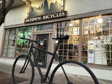Intown Bicycles, located in Midtown on Monroe Drive, has seen consumer demand for bikes increase since the pandemic while supply has run out. Other bike stores, and the bike industry as a whole, has faced a similar situation.