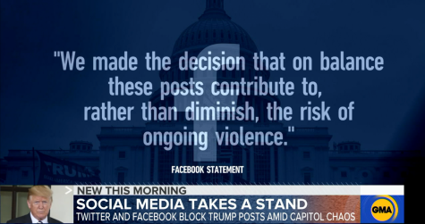 After the siege on the US Capitol on Jan. 6, social media platforms including Facebook, Twitter and Instagram have temporarily shutdown Trump
