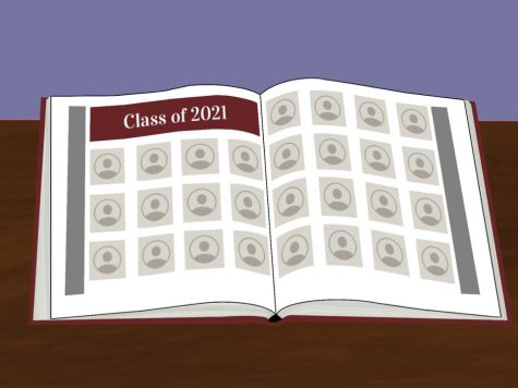 Grady yearbook has has to adapt to different circumstances brought by the pandemic. They anticipate that few students will submit portraits, so they will fill the empty space with student features.