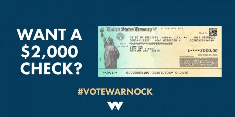 Senate runoff candidate Raphael Warnock based his successful campaign on a promise of $2000 checks to all Americans. However, after only $1400 in direct, targeted relief has been passed as a result, the promise has not been kept.