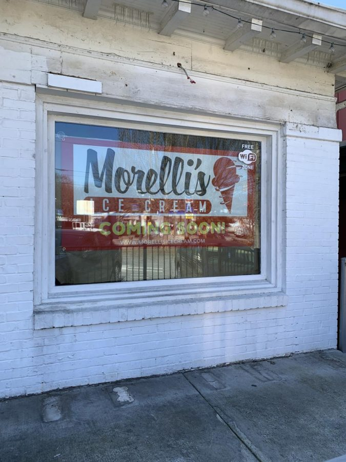The former Yogli Mogli location is soon to be home for Morelli's Ice Cream. This will be their second Atlanta location, joining the other Morelli's on Moreland Ave.
