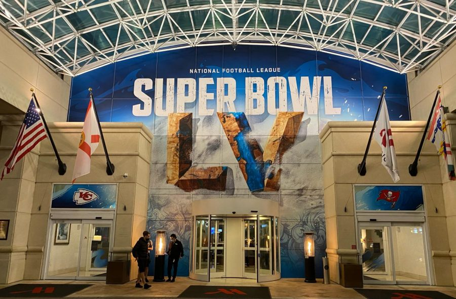 HERO'S HEADQUARTERS: Members of the Emergency preparedness team at the Super Bowl use a hotel near the stadium as a central location to make sure all their plans go smoothly.