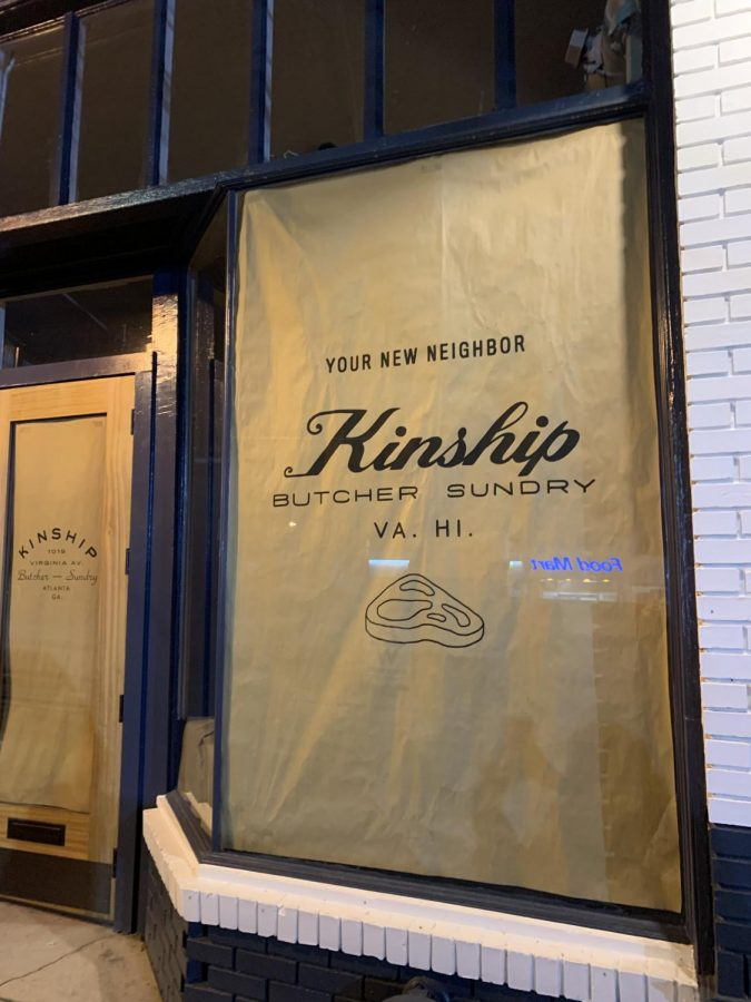 The building of the soon-to-be Kinship butcher and marketplace has been under construction over the last couple months. Once opened, Kinship is excited to bring their local foods to the corner.