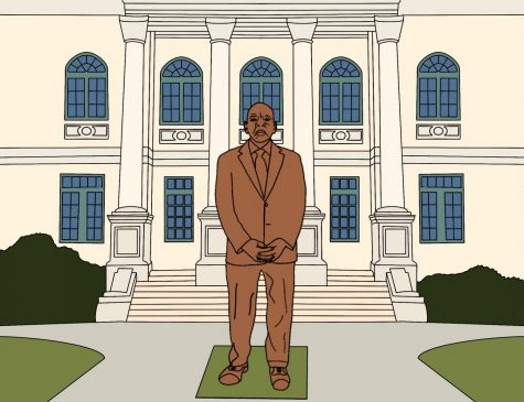 The John Lewis statue will be mounted in front of the DeKalb Courthouse in Decatur, Ga.